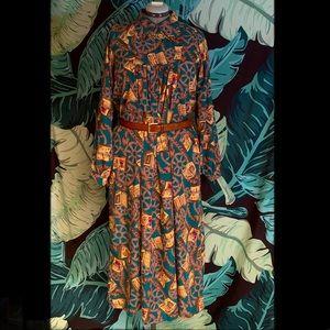 Vintage handmade tunic dress